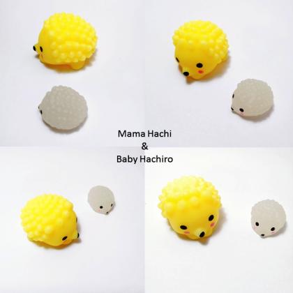 WOW Surprise - MamaMia & BabyBu Cute Mochi Animals