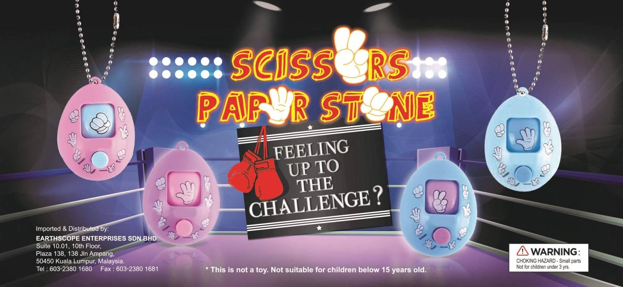 Scissors Paper Stone