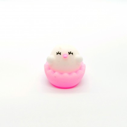 Toy Capsule - Squishy Chick In Egg