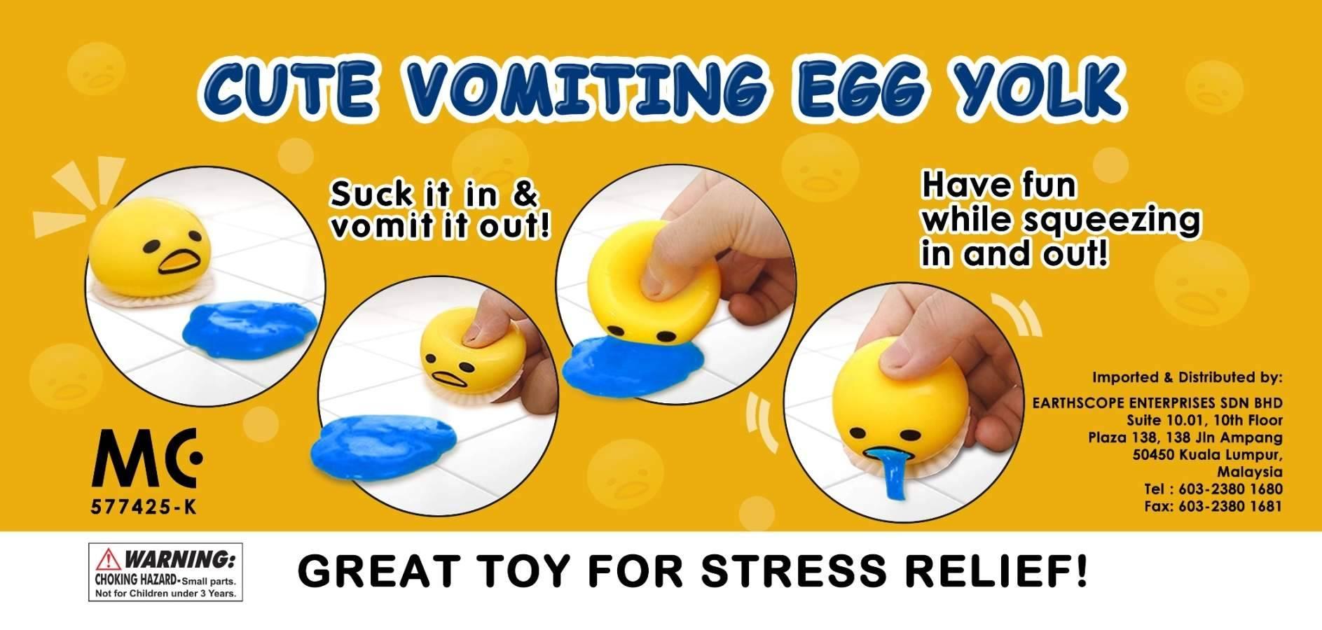 Vomiting Egg